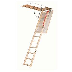 Escada de madeira para sotão OLE Kronmat 60x120x280 Fakro