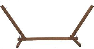 Base suporte de madeira para rede de tecido Merco Comercial