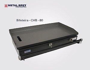 Chapa Bifeteira de 80 cm CHB - 80 Metal Brey