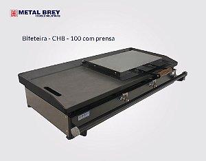 Chapa Bifeteira de 100 cm CHB - 100 ( Com Prensa ) Metal Brey