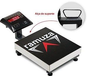 Balança Maleta Portátil 200kg / 50g ( PESO DA BALANÇA 5,8kg !! ) PLAT 33x28 Ramuza