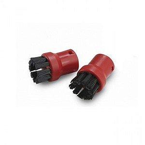 Escova Redonda para Limpadoras a Vapor SC 1010 E SC 2500 (Vermelha)