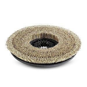 Escova de disco, suave, natural, 430 mm