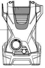 Capô Frontal K2
