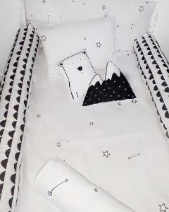 Kit Berço Stars - Completo 08 peças