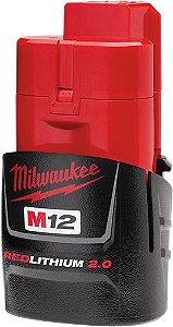 Bateria Milwaukee De 12v 2ah M12 Mod. 48-11-2659