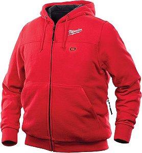 Jaqueta Vermelha Com Capuz M12 301r-20l Milwaukee
