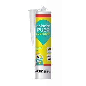 Selante Poliuretano PU30 Branco 300ml - Quartzolit - 31406.31.32.030