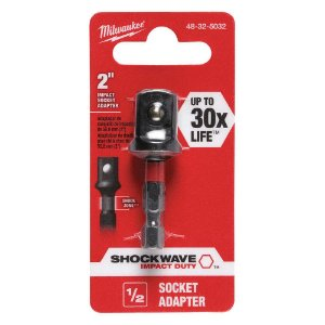 Adaptador P/soquete 1/4 X 1/2 - 48-32-5032 Milwaukee