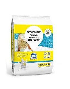 Argamassa Cimentcola Flexível ACIII Branco Quartzolit