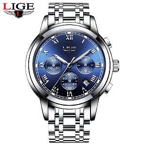 49ebd55dd3e Relógio de Luxo Masculino BENYAR Leather Army Male - Relógios Importados