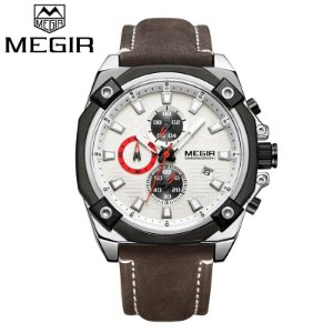 1b559435df1 Relógio de Luxo Masculino MEGIR Casual Business