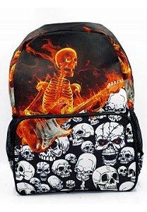 Mochila Skull Guitar