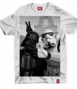 Camiseta Star Wars - Especial