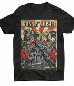 Camiseta Guns N Roses - Especial