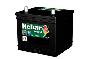Bateria Heliar 38 Ah - Original De Montadora 18 meses de garantia