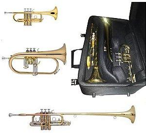 Estojo para 3 trompetes