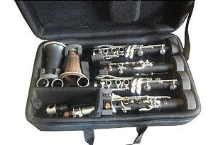 Estojo duplo para clarineta - fa e sib
