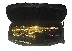 Estojo para saxofone alto meia lua - MEN17