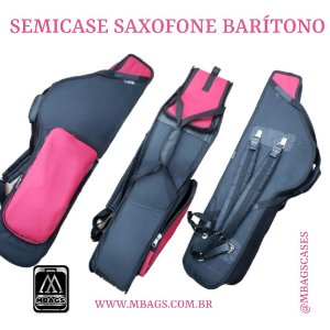 MBAGS - Semicase Para Saxofone Baritono - PLASTPAPER