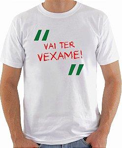 Camiseta - Vai ter vexame! (versão 2)