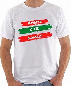 Camiseta - Aperta o F5, Gomão!