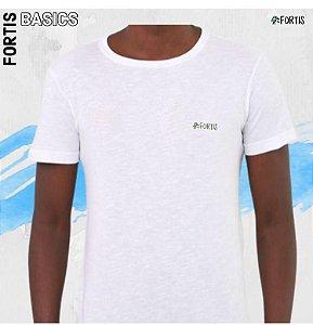 Camiseta Basic Branca Fortis