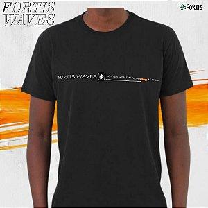 Camiseta  Fortis Wave Preta