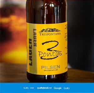 Cerveja Artesanal Lager Pilsen 600 ml