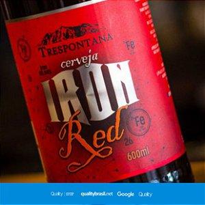 Cerveja Artesanal Iron Red Ale 600 ml