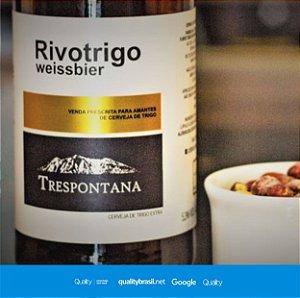 Cerveja Artesanal Rivotrigo  Weisbier 600 ml