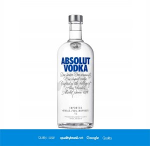 Vodka Absolut 1000 ml
