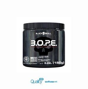 BOPE - 150g Sabores - Black Skull