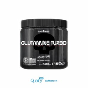 Glutamina Turbo - 150g - Black Skull