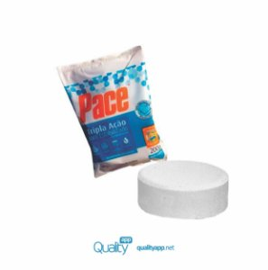Pastilha Pace-Tripla Ação Tablete 200g - HTH