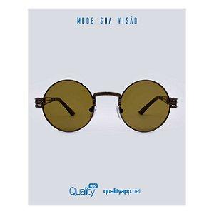Óculos Drop Marrom