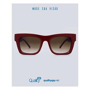 Óculos Munique Vermelho