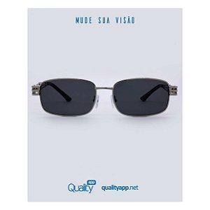 Óculos Life Preto com Prata