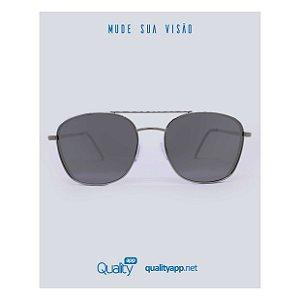 Óculos London Prata Espelhado