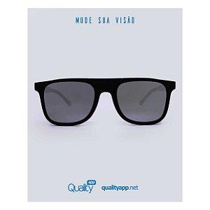 Óculos Dubai Preto Espelhado