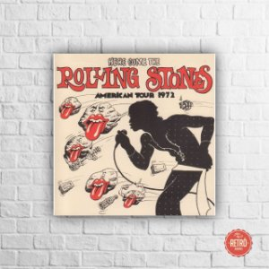 Quadro Poster American Tour 1972