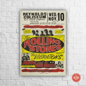 Quadro Poster Awesome The Rolling Stones