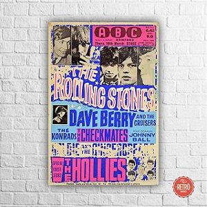 Quadro Poster Stones 1965