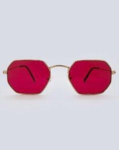 Óculos Dallas Vermelho