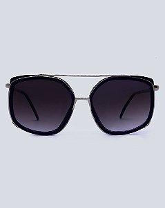 Óculos Zurique Azul com Prata