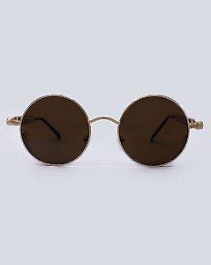 Óculos Los Angeles Rose com Marrom
