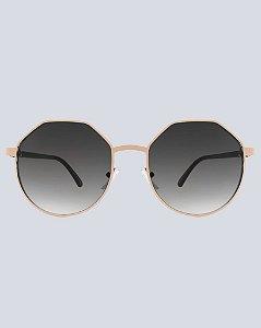 Óculos Nantes Preto com Dourado