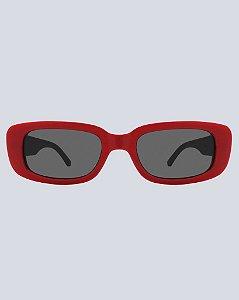 Óculos Louis Preto com Vermlho