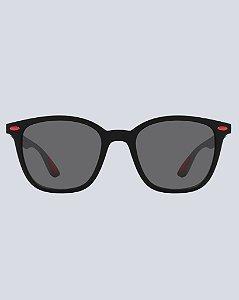 Óculos Clark 2.0 Preto com Vermelho