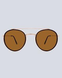 Óculos Gree Marro com Rosé